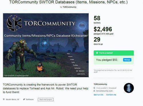 TorCommunity хотят заменить TorHead с помощью Kickstarter